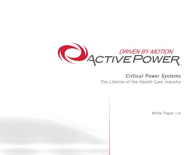 Active Power White Paper edge mission critical