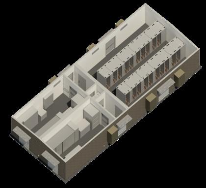 Binary Bunker 20 Rack Modular Data Center